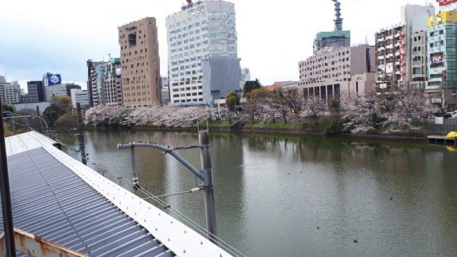 20190402_市ヶ谷駅より